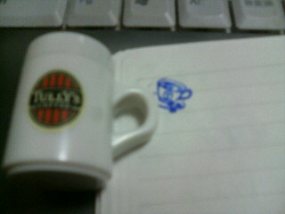 タリーズコーヒーのスタンプ